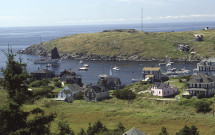 Monhegan Island harbor